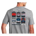 50th Locomotive Livery Tee