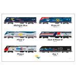 50th Locomotive Poster~