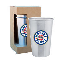 Hockey Night in Canada 4 Pack Stainless Steel 16oz Pint