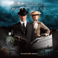 2015 Murdoch Mysteries Wall Calendar