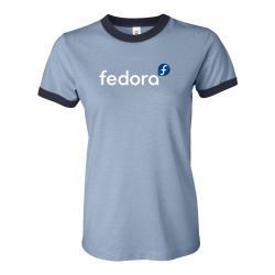 Ladies Fedora Ringer T-Shirt